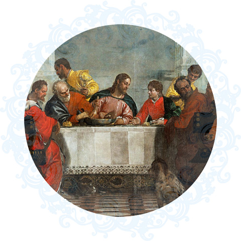 Feast In The House Of Levi by Paul Veronese