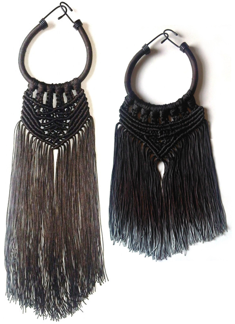 Eleanor Amoroso Macrame Necklaces