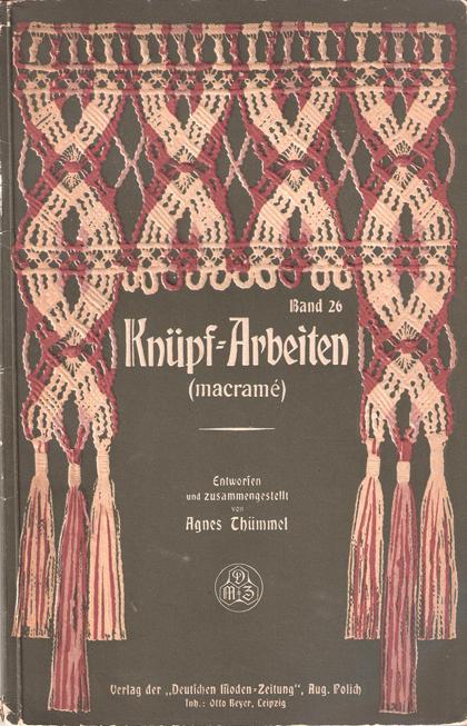 Knupf-Arbeiten Macrame Front Cover