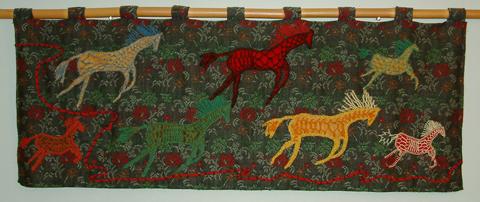 Cordoroy Horses Running
